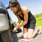 every driver needs to know how to change a tire