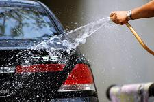 hand-washing your car